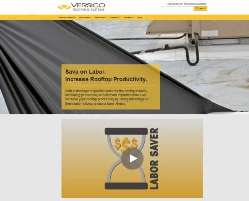 Versico Labor Saving Products